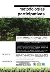 Metodologías participativas en el ámbito del desarrollo rural y la gestión del territorio